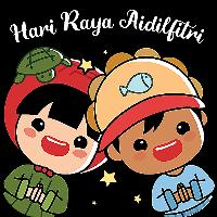 Ang Ku Kueh Girl - Hari Raya - WhatSticker
